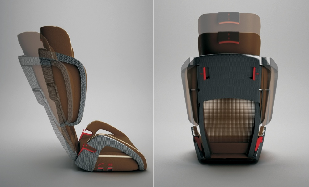 Porsche-Child Safety Seat